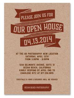 open house invitation - Google Search