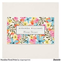 Paradise Floral Print