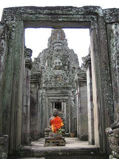 Buddha at Angkor, Cambodia