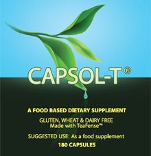 CAPSOL-T® is a product consisting of food grade decaffeinated green tea…