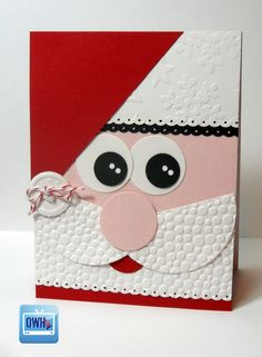 Santa Card face from OWH