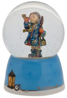 M.I. Hummel Musical Water Globe - Hear Ye Hear Ye ** Instant Savings available here : Snow Globes