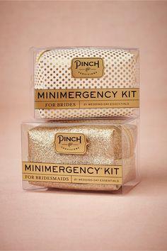 Minimergency Kit for Brides Bridesmaids {genius}