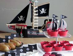 """Winter Pirate Party / Birthday """"Hugo Pirate Party"""" 