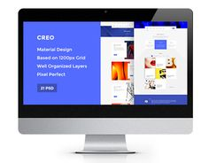 "Check out new work on my @Behance portfolio: ""Creo — Modern Design Studio/Creative Agency PSD Templat"" http://be.net/gallery/35168611/Creo-Modern-Design-StudioCreative-Agency-PSD-Templat"