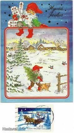 ˇˇ Gnomes, Elf, Decoupage, Christmas Cards, Heaven, Santa, Illustration, Costumes, Christmas E Cards