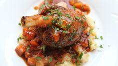 - slowfood: Lammeskank med Potetmos - Lamb Shanks with potato mash Dinner Side Dishes, Dinner Sides, Main Dishes, Lamb Shanks, Second Breakfast, Hummus, Food To Make, Curry, Pork