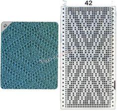 View album on Yandex. Knitting Gauge, Lace Knitting, Knitting Stitches, Knitting Designs, Knit Crochet, Knitting Machine, Crochet Table Runner, Stitch Patterns, Textiles