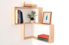 Eckregal ikea eckregal selber bauen eckregal holz eckregal wohnzimmer kreative wandgestaltung deko ideen diy ideen19