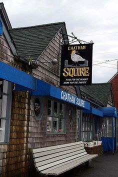 Chatham Squire Restaurant, Chatham, Cape Cod, MA.  The food and atmosphere are great.  My sister, Barbara, says they have the best clam chowder.