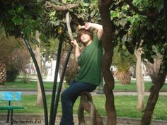 So this is a photo of a friend..taken in a beautiful park..