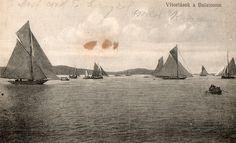 Lake Balaton, Hungary. 1918