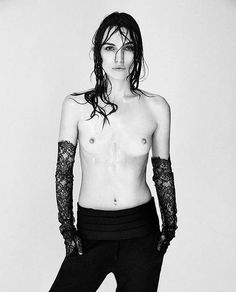 Keira Knightley poses topless for a special September The Photographer's issue of Interview Magazine, out now