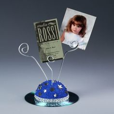 Father's Day Craft: CD Photo Clip