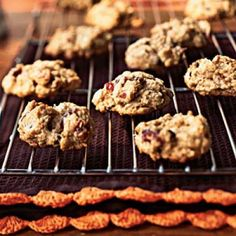 Cranberry-Nut Chocolate Chip Cookies | CookingLight.com