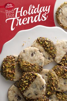 Trend 1: Sweet and Savory Cookies    {Chocolate-Dipped Olive Sablés} #MakeMerry