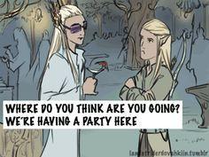 """YOU HAD ONE JOB BILBO"" - Hobbit/Emperor's New groove Crossover by landstriderdovahkiin"