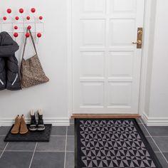 tica copenhagen - Fußmatte, schwarz / grau