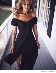 Awesome dress on black
