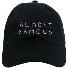 Nasaseasons Women Almost Famous Embroidered Baseball Hat (88 CAD) ❤ liked on Polyvore featuring accessories, hats, caps, fillers, black, embroidered hats, embroidery caps, embroidered ball caps, baseball hats and baseball cap hats