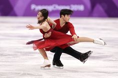 Maia Shibutani and Alex Shibutani of the United States compete in the Figure Skating Team Event – Ice Dance Free Dance on day three of the PyeongChang 2018 Winter Olympic Games at Gangneung Ice Arena on February 12, 2018 in Gangneung, South Korea. - Figure Skating - Winter Olympics Day 3