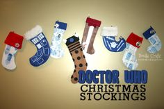 Doctor Who Christmas Stockings - Doodle Craft...