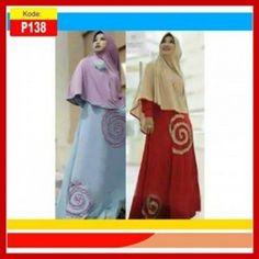 Baju gamis syari modern dan trendy