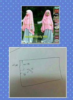 jilbab Lengan anak