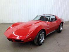1973 Chevrolet Corvette T-Tops! Only 87k!