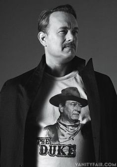 Tom Hanks from Adventures in Hollywood: The 2013 Vanity Fair Hollywood Portfolio. Photographed by Bruce Weber. Tom Hanks, Celebrity Portraits, Celebrity Photos, Hollywood Actor, Old Hollywood, Hollywood Glamour, Hollywood Stars, Toms, Pokerface