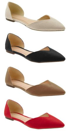 D'Orsay Flat, Old Navy, d'orsay flats, women's flats, Pumped Up Kicks, Walk This Way, Womens Flats, Fashion Shoes, Old Navy, Pumps, My Style, Belts, Romantic