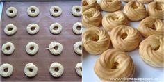 Žloutkové věnečky Doughnut, Cheesecake, Cupcakes, Vegetables, Cooking, Recipes, Food, Pizza, Party