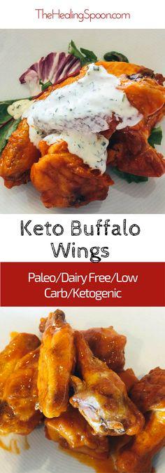 #keto baked buffalo #chicken wings