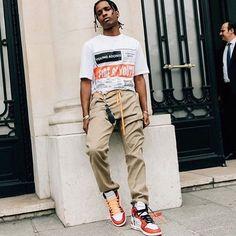 WEBSTA @ houseofstreetwear - @asaprocky at paris fashion week#houseofstreetwear #asaprocky #parisfashionweek #paris #pfw #offwhite
