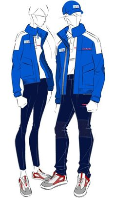 Prada-designed uniforms for the Italian National sailing team in the Olympics and Paralympic games.