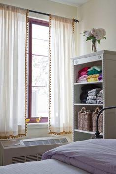 DIY::: Pom Pom Curtains » happy pretty home