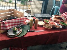 Our Grilled avocado station!