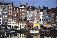 Honfleur, France  My favourite place in France.