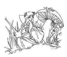 Fairy Godiva by JadeDragonne.deviantart.com on @deviantART