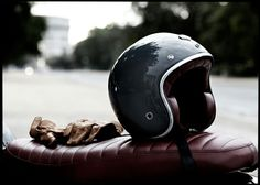 Helmets, gloves #motorcycle, #motos | Vintgarage