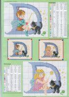 Fairy Alphabet -D Cross Stitch Alphabet Patterns, Cross Stitch Letters, Cross Stitch Books, Cross Stitch Charts, Stitch Patterns, Cross Stitching, Cross Stitch Embroidery, Embroidery Patterns, Cross Stitch Family
