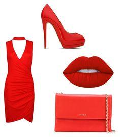 Designer Clothes, Shoes & Bags for Women Pumps, Heels, Lanvin, Lime Crime, Giuseppe Zanotti, Boohoo, Shoe Bag, Polyvore, Red