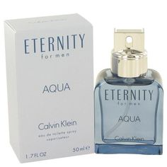 Eternity Aqua by Calvin Klein Eau De Toilette Spray 1.7 oz (Men)