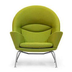 Cozy reading chair.   CH468 by Hans Wegner, Carl Hansen & Son.