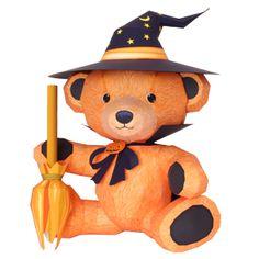 Halloween Teddybär - Spielzeuge - Papiermodelle - Canon CREATIVE PARK