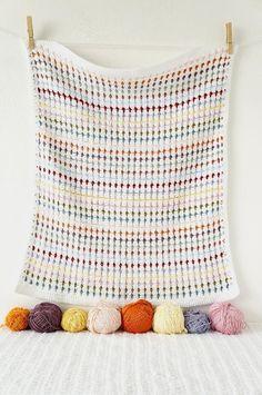 blanket crochet pattern baby photo prop newborn by LittleDoolally Crochet Motifs, Crochet Blanket Patterns, Baby Blanket Crochet, Knitting Patterns, Knit Crochet, Crochet Video, Small Blankets, Manta Crochet, Baby Kind