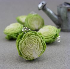 DIY Miniature Cabbage Field by Shay Aaron, via Flickr