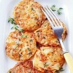 Hash Brown Potato Cakes | actually pretty healthy recipe...just 1 Tbsp. to a pound of potatoes.