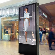 Can be used for digital signage advertising or with touch as a point of information, directory or for wayfinding. Commercial class features and specs can be configured to your requirements. Mall Kiosk, Company Signage, Digital Signage, Shopping Mall, Service Design, Specs, Advertising, Commercial, Indoor