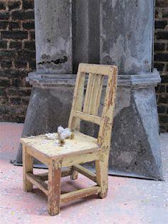 little kids chair (vintage finds)